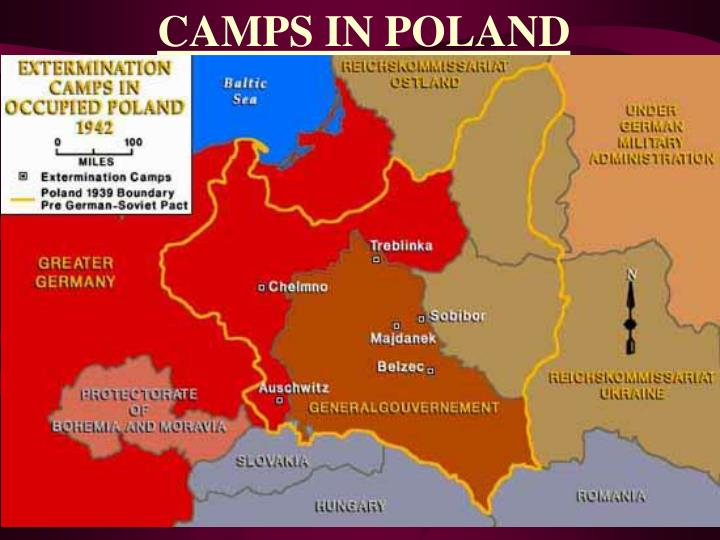 CAMPS IN POLAND