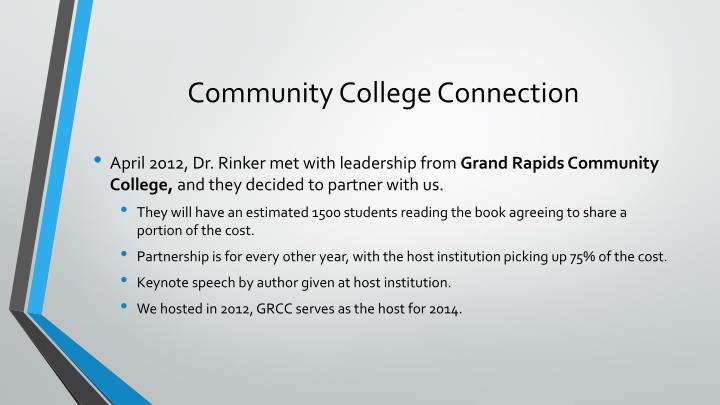 Community College Connection