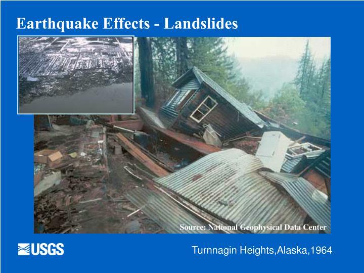 Earthquake Effects - Landslides