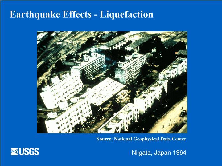 Earthquake Effects - Liquefaction