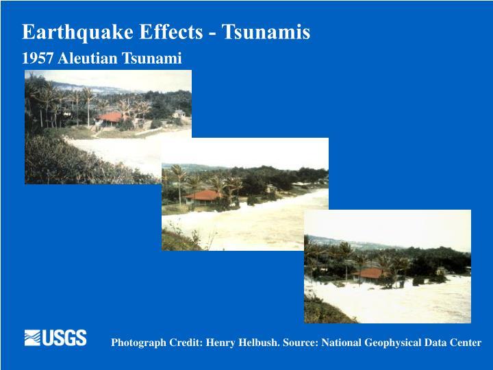 Earthquake Effects - Tsunamis
