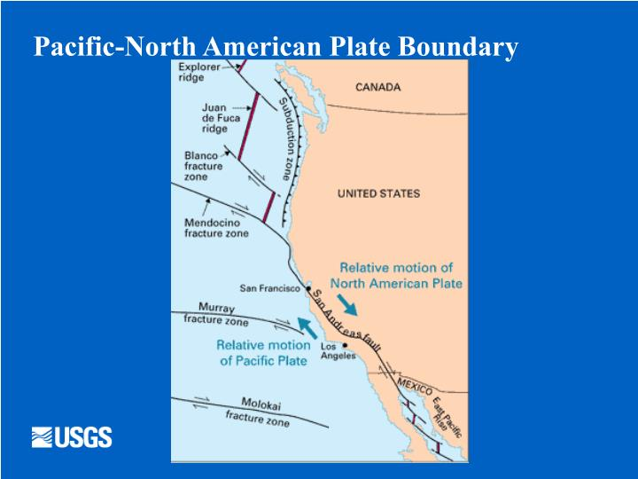 Pacific-North American Plate Boundary