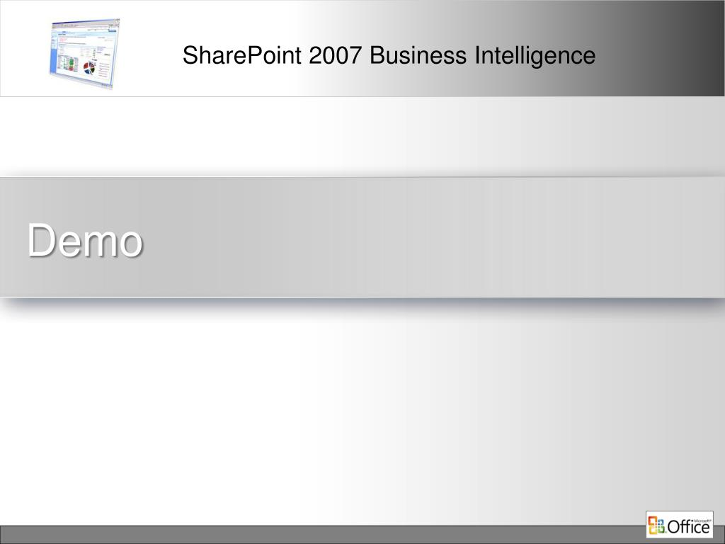 PPT - SharePoint Business Intelligence PowerPoint
