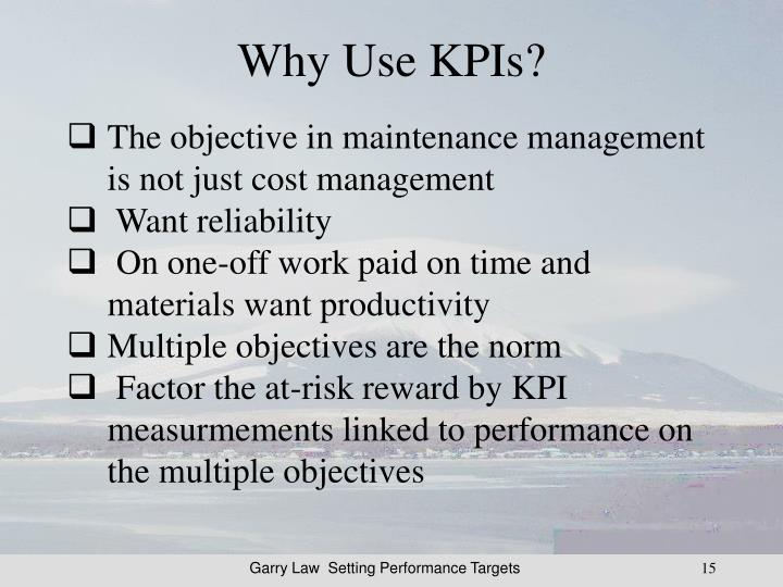 Why Use KPIs?