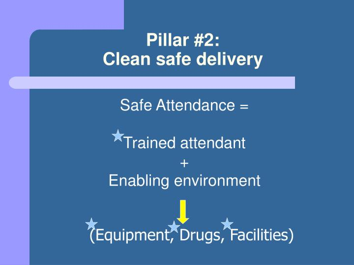 Pillar #2: