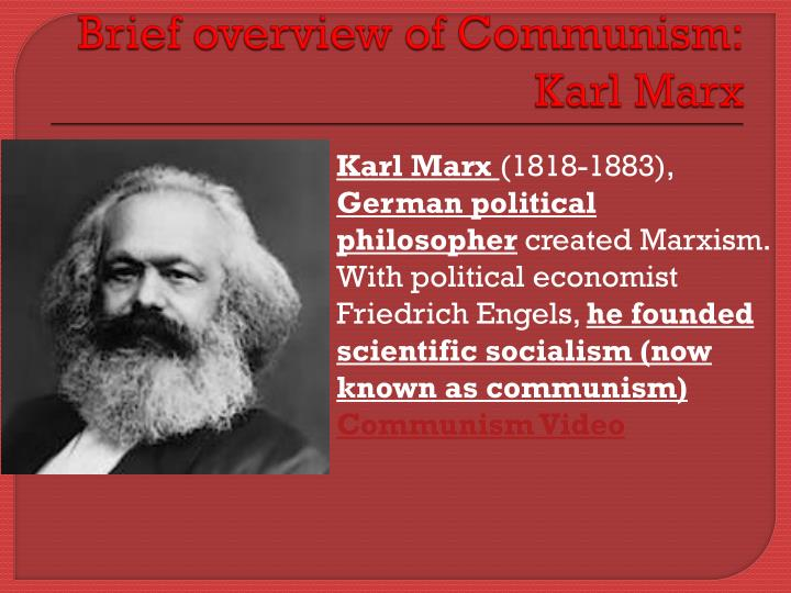the influence of karl marx in founding scientific socialism and modern communism Karl marx communism socialism very often as the very founder of modern communism not to that of communism the marx and communism.