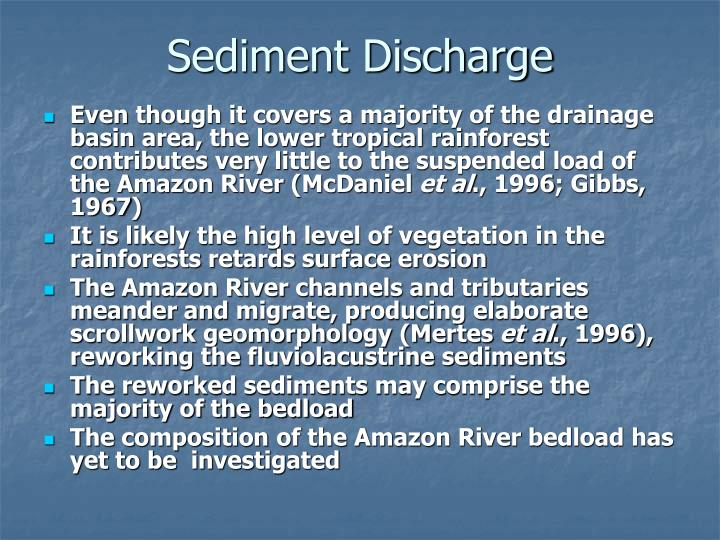 Sediment Discharge