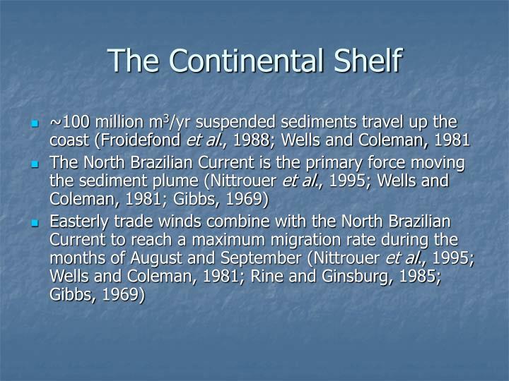The Continental Shelf