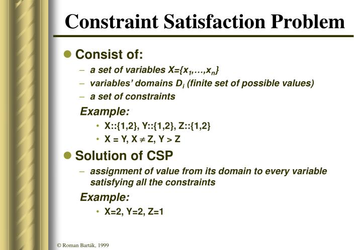 Constraint Satisfaction Problem