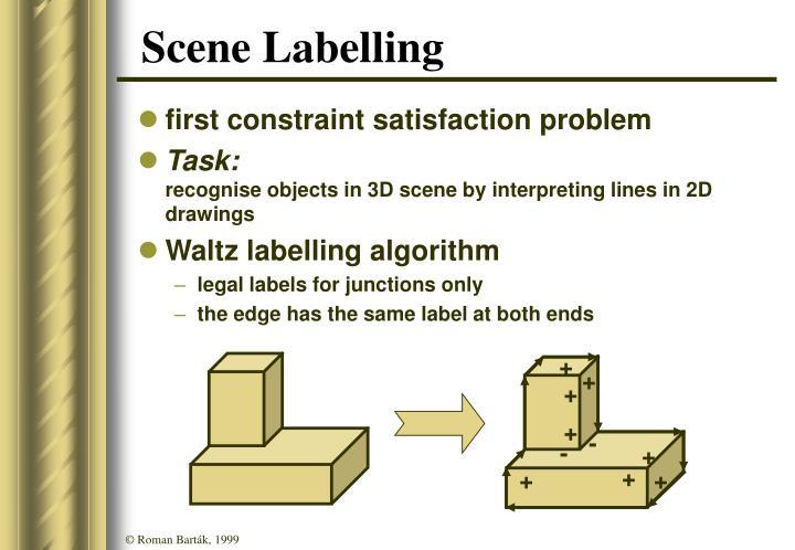 Scene Labelling