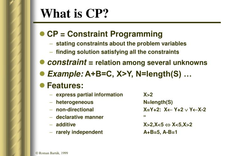 What is CP?