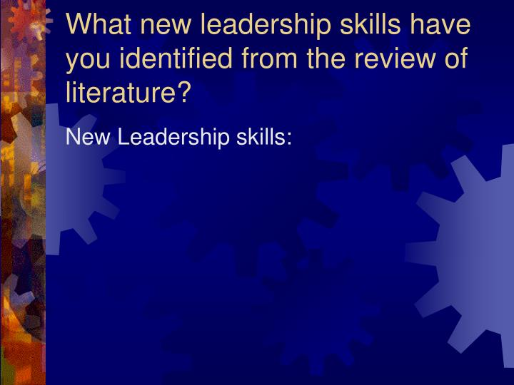 qualities of good literature review