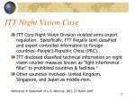 itt night vision case