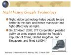 night vision goggle technology