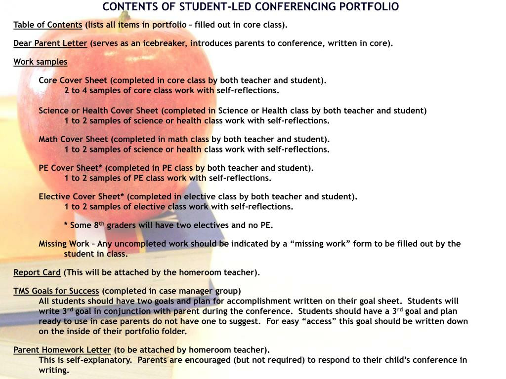 PPT - STUDENT-LED CONFERENCES PowerPoint Presentation, free ... Student Led Conference Letter To Parents Template on sports letter template, parent conference letter form, community service letter template, written warning letter template, mediation letter template, kindergarten letter template, reading letter template, writing letter template, restitution letter template, expulsion letter template, dismissal letter template, school letter template, parent invitation template, reprimand letter template, detention letter template, blank meeting minutes template, open house letter template,