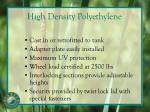 high density polyethylene1