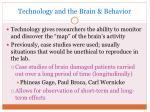 technology and the brain behavior
