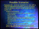 possible scenarios10