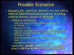 possible scenarios13