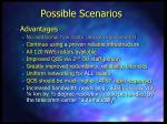possible scenarios14