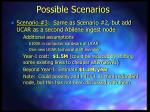 possible scenarios7