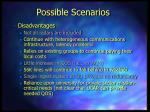 possible scenarios9