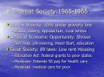 the great society 1965 1966