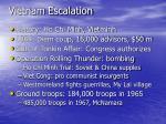 vietnam escalation
