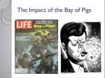 the impact of the bay of pigs