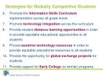 strategies for globally competitive students1