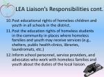 lea liaison s responsibilities cont2
