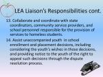 lea liaison s responsibilities cont3