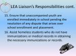 lea liaison s responsibilities cont4