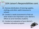 lea liaison s responsibilities cont6