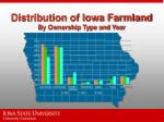 distribution of iowa farmland by ownership type and year