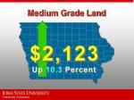 medium grade land
