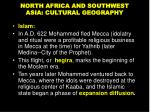 north africa and southwest asia cultural geography3