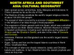 north africa and southwest asia cultural geography8