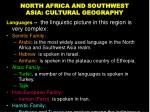 north africa and southwest asia cultural geography9