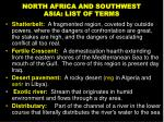 north africa and southwest asia list of terms