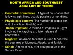 north africa and southwest asia list of terms3