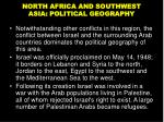 north africa and southwest asia political geography