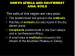 north africa and southwest asia soils