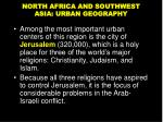 north africa and southwest asia urban geography1