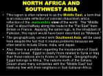 north africa and southwest asia1