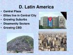 d latin america
