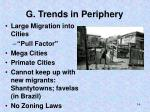 g trends in periphery