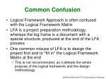 common confusion