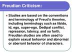freudian criticism1