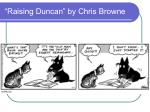 raising duncan by chris browne